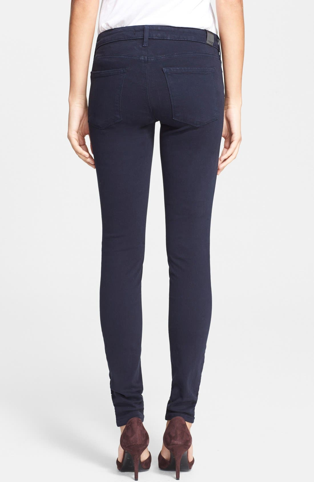 Alternate Image 2  - Vince 'Riley' Skinny Jeans (Coastal Blue)