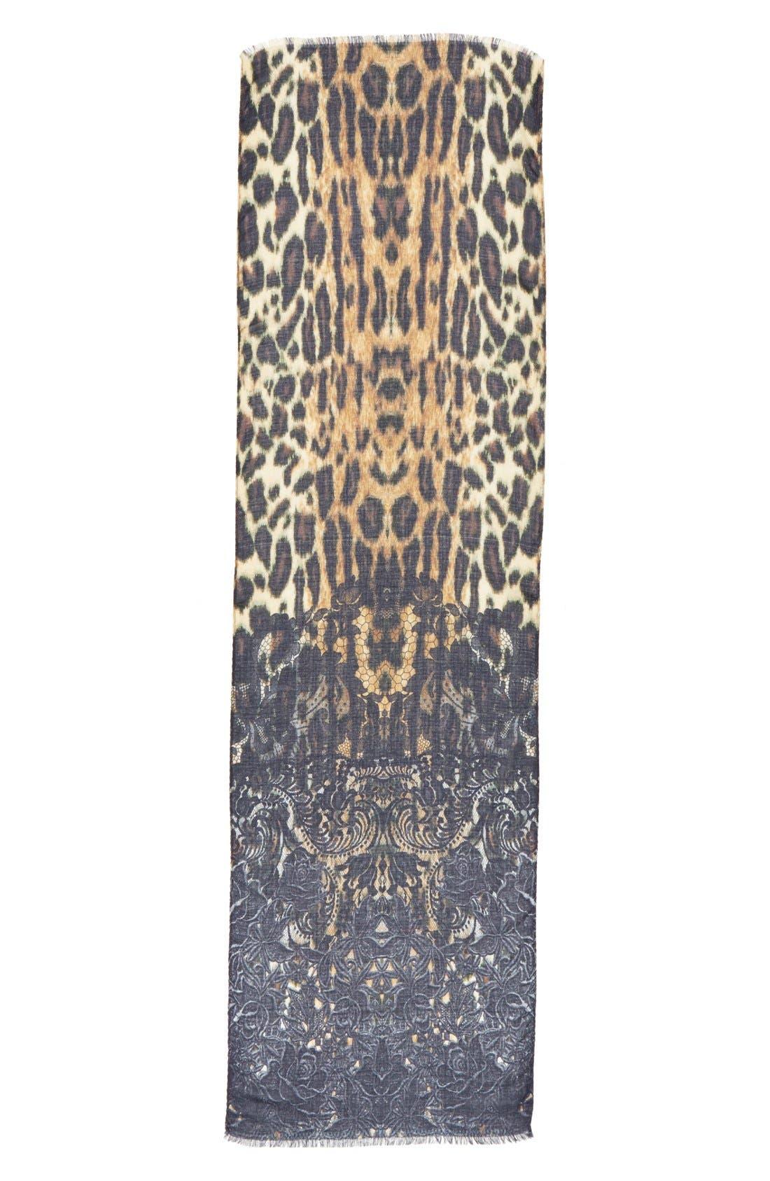 Alternate Image 2  - Echo 'Gypsy Cheetah' Scarf