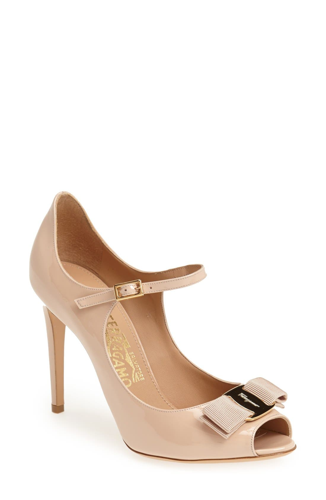 Alternate Image 1 Selected - Salvatore Ferragamo 'Mood' Pump (Women)