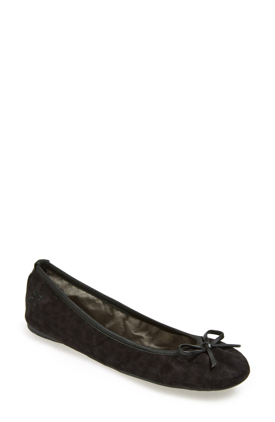 Main Image - Butterfly Twists 'Cece Leopard' Folding Ballerina Flat (Women)