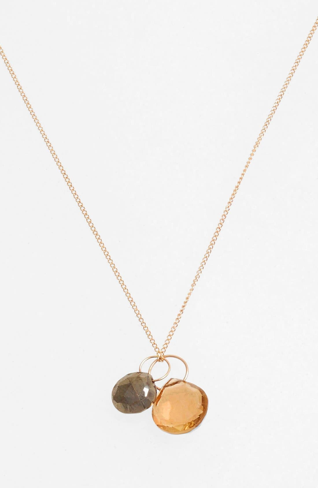 Alternate Image 1 Selected - Melissa Joy Manning Double Pendant Necklace