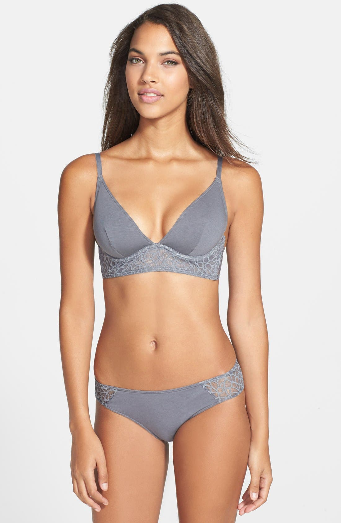 Alternate Image 3  - Studio by La Perla 'Iris' Underwire Longline Triangle Bra