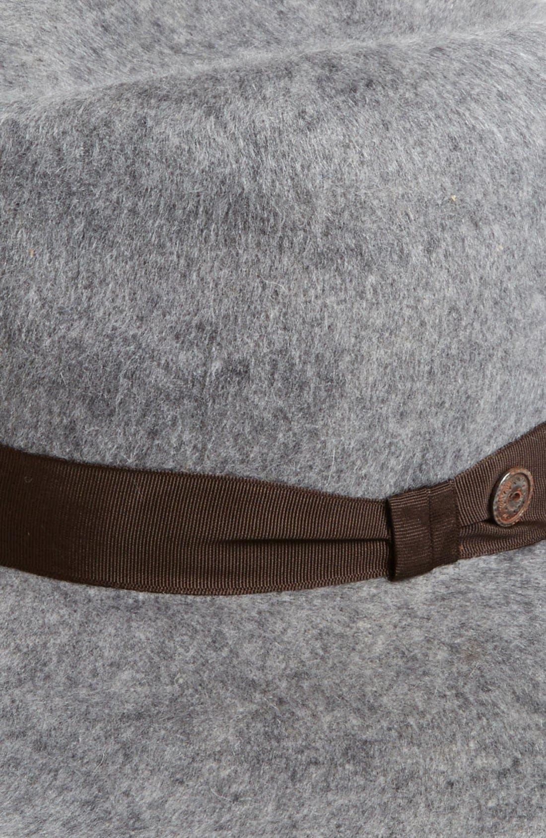 Alternate Image 2  - Grace Hats 'Shag' Wide Brim Wool Hat