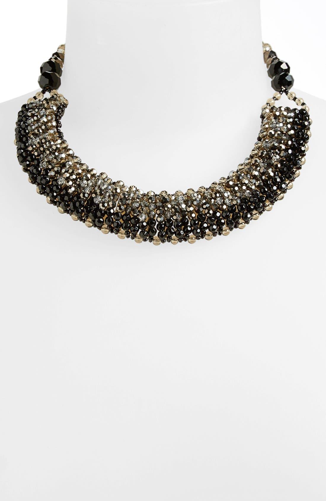 Alternate Image 2  - Nakamol Design 'Half Line Couture' Collar Necklace