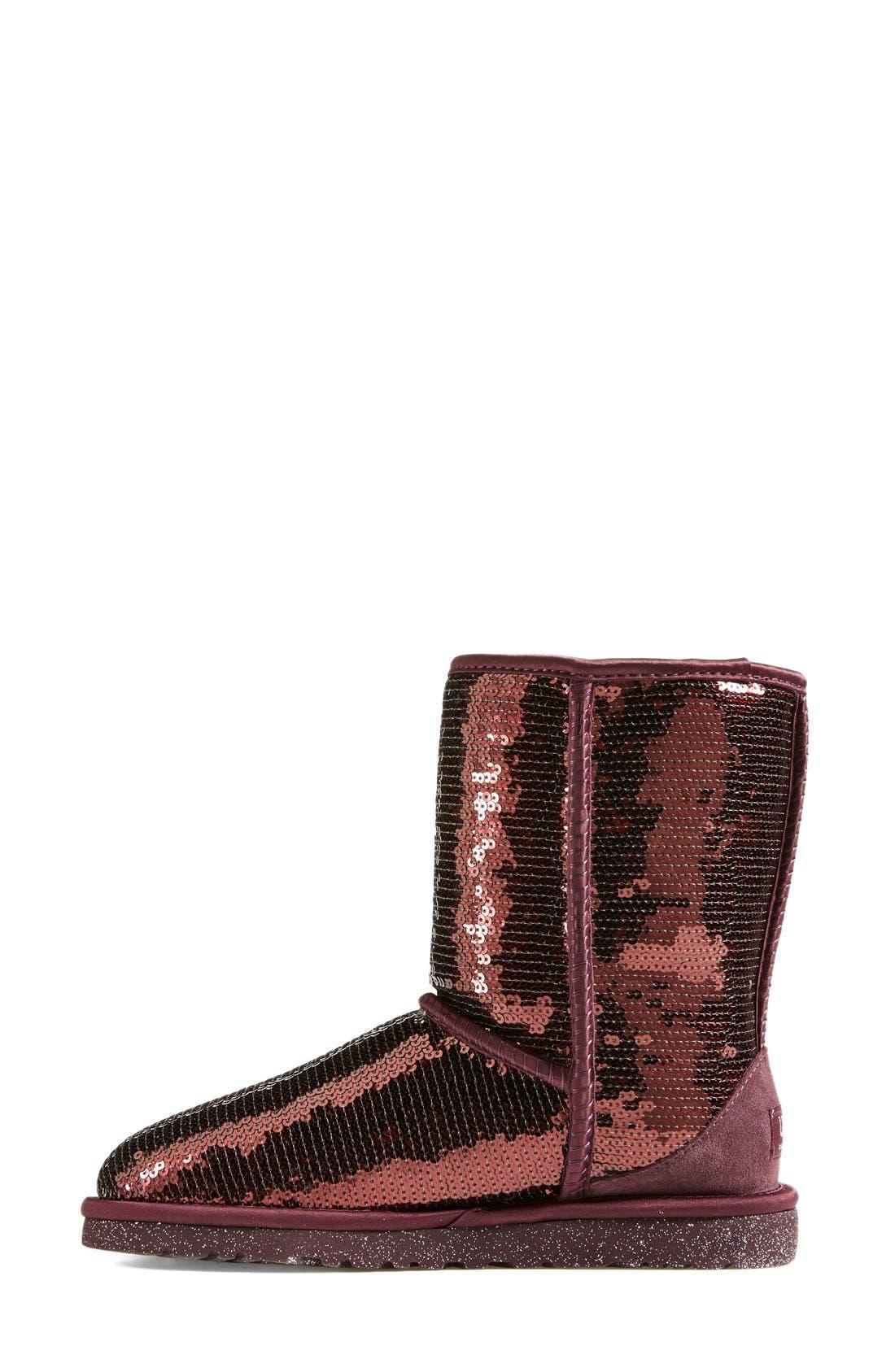 Alternate Image 6  - UGG® Australia 'Classic Short Sparkles' Boot (Women)