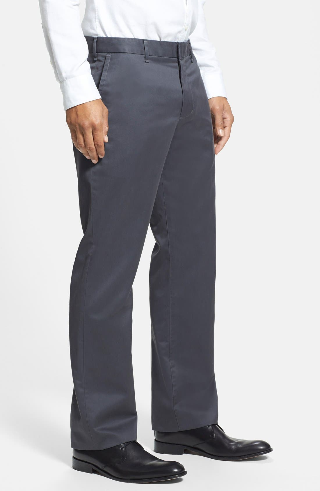 Alternate Image 3  - Bonobos 'Weekday Warriors' Non-Iron Straight Leg Cotton Pants