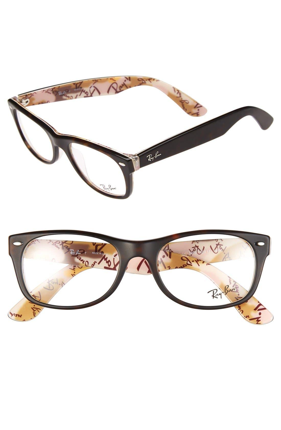 Alternate Image 1 Selected - Ray-Ban 52mm Optical Glasses
