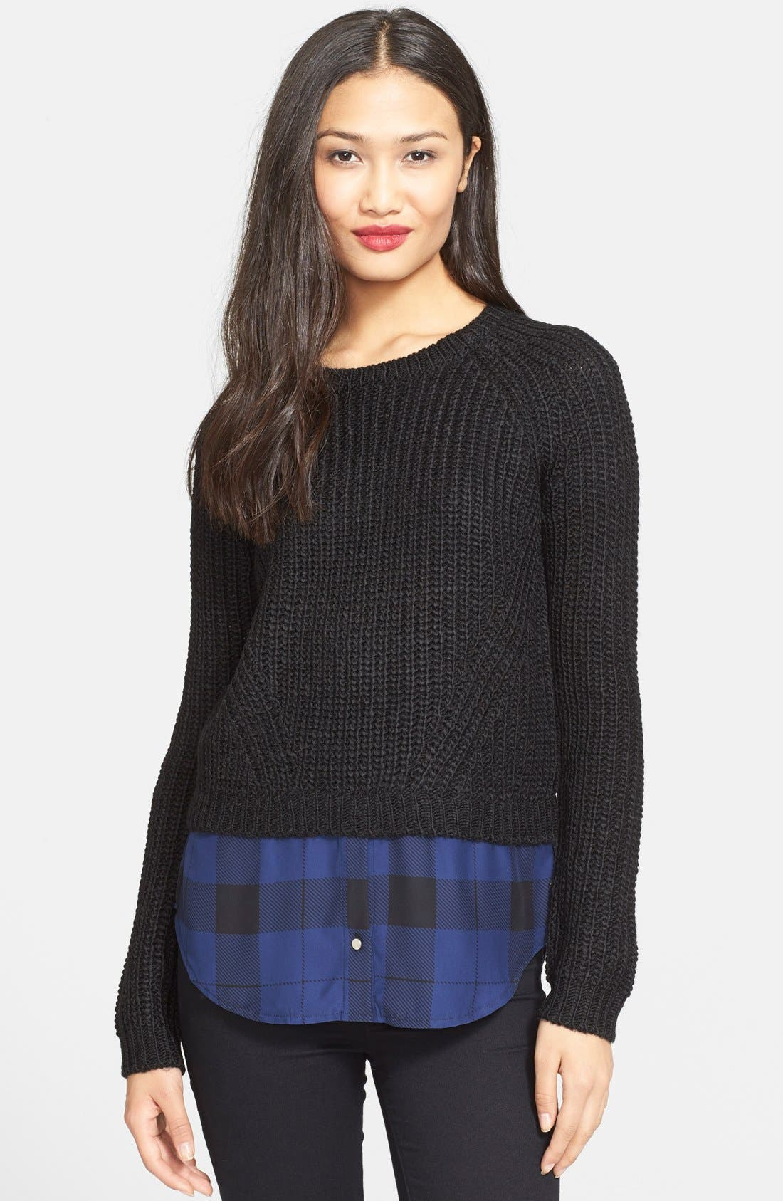 Alternate Image 1 Selected - Parker 'Wendy' Layered Look Sweater