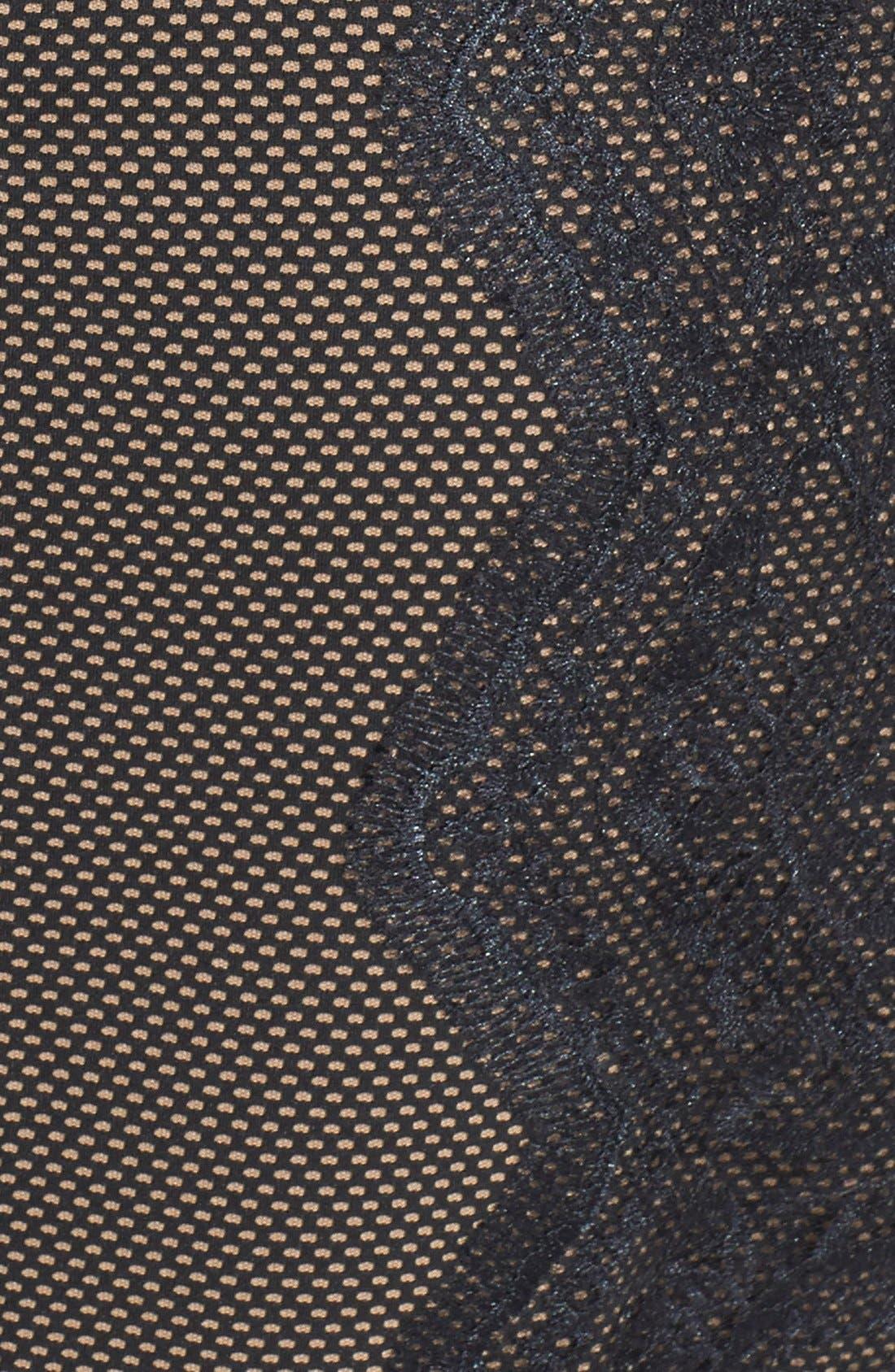 Alternate Image 4  - Tadashi Shoji Embroidered Neoprene Sheath Dress