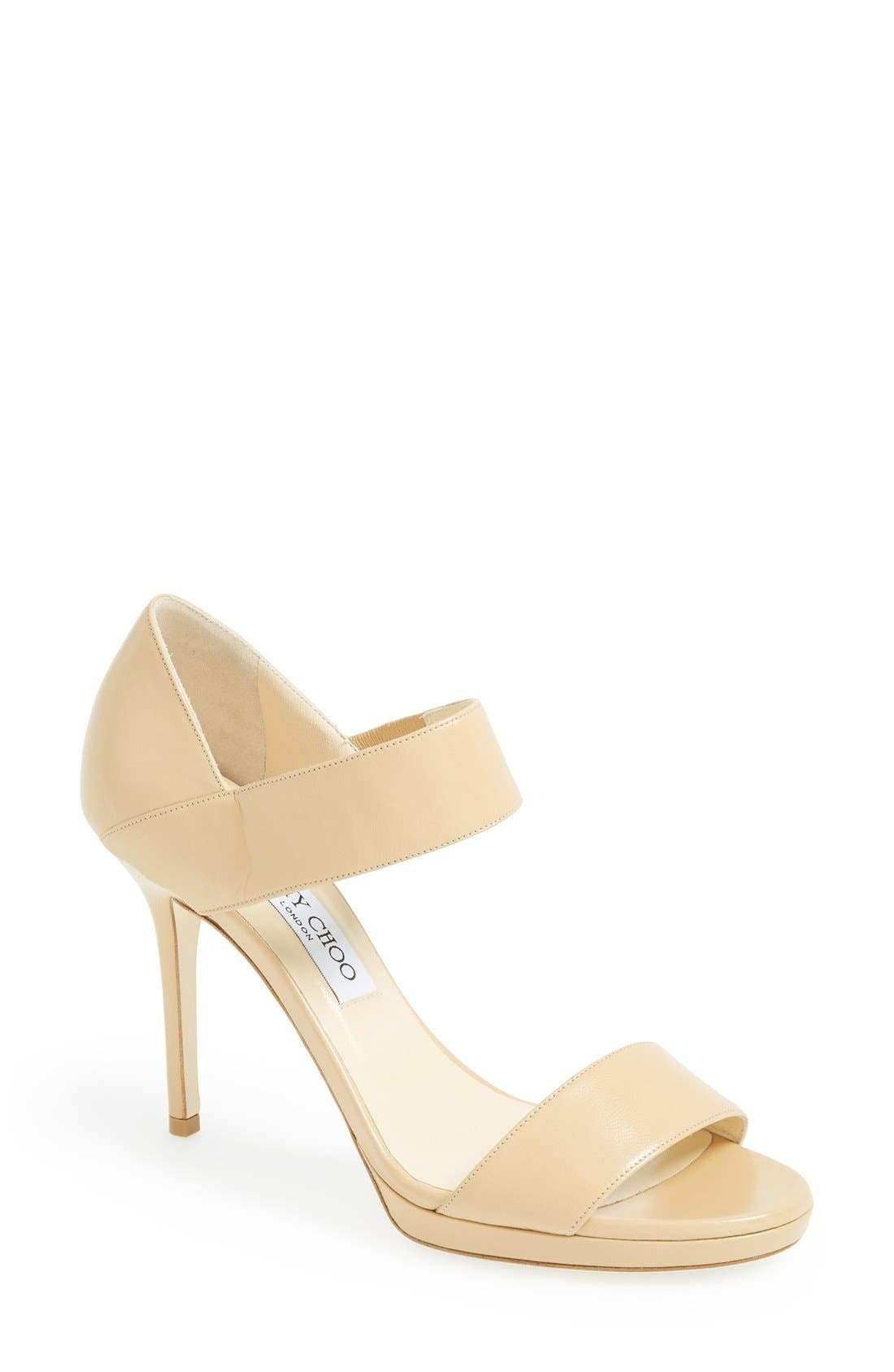 Alternate Image 1 Selected - Jimmy Choo 'Alana' Platform Sandal (Women)