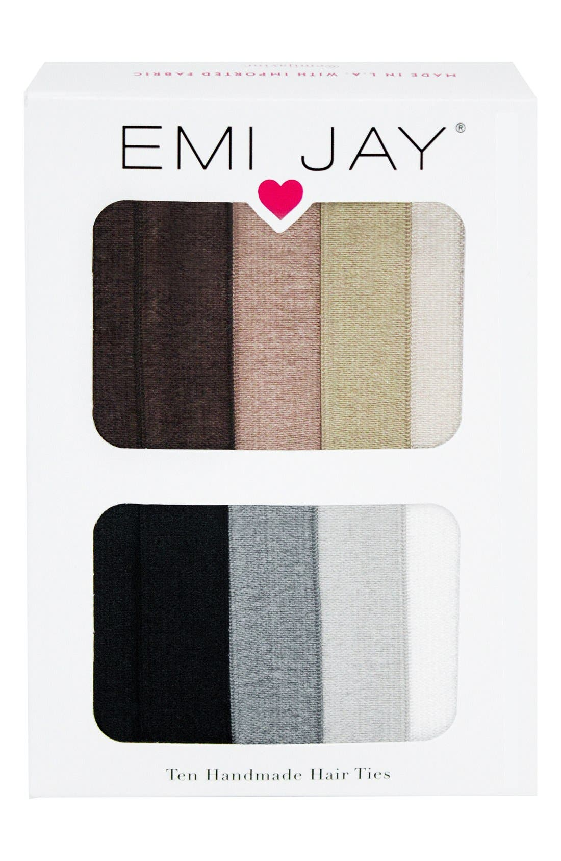 Alternate Image 2  - Emi-Jay Ombré Hair Ties (10-Pack) ($20 Value)