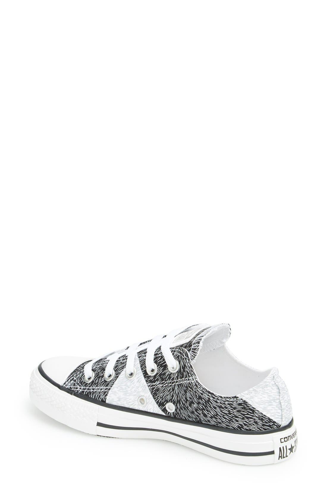 Alternate Image 2  - Converse Chuck Taylor® All Star® 'Animal Reflect' Sneaker (Women)