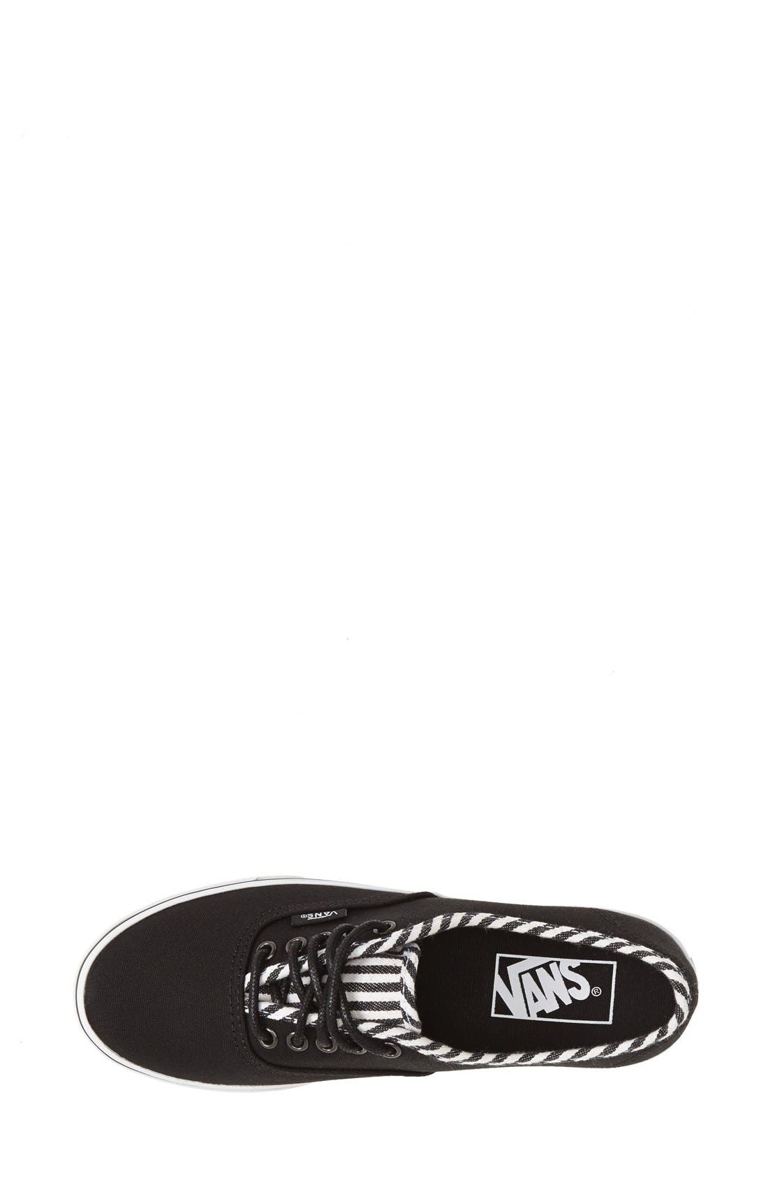 Alternate Image 3  - Vans 'Authentic - Lo Pro Hickory Stripes' Sneaker (Women)