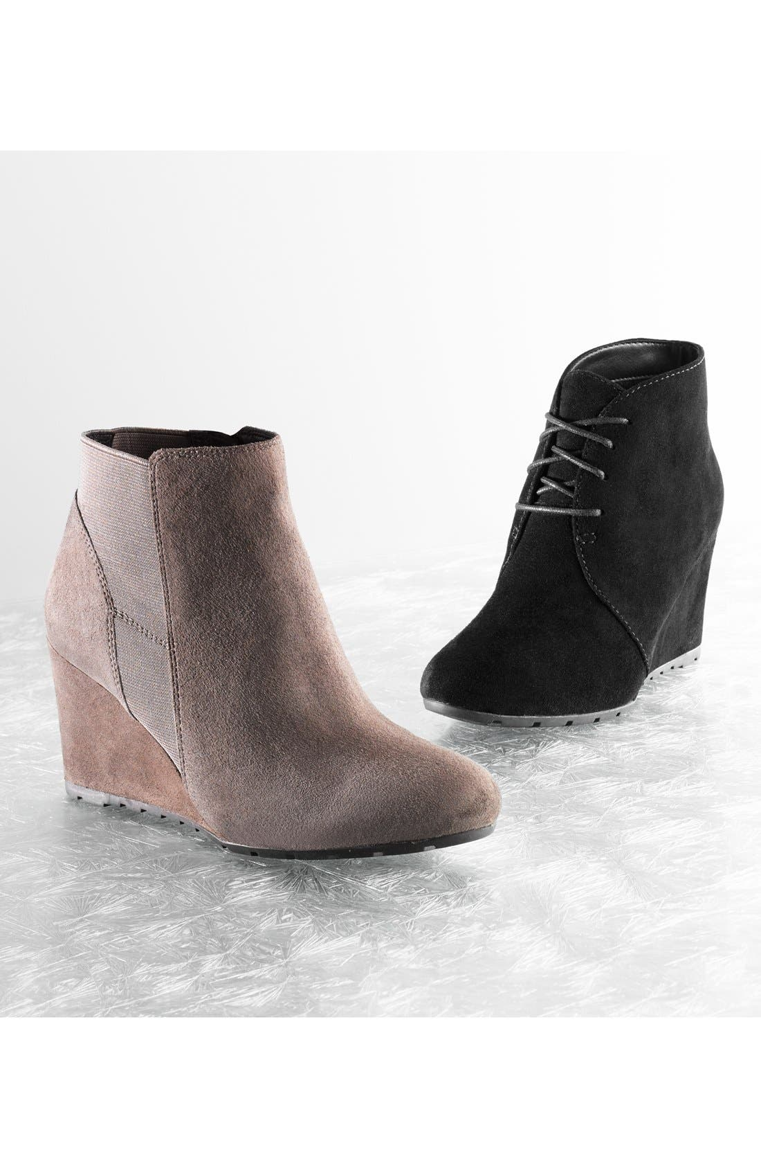 Alternate Image 5  - Clarks® 'Rosepoint Bell' Suede Wedge Boot (Women)