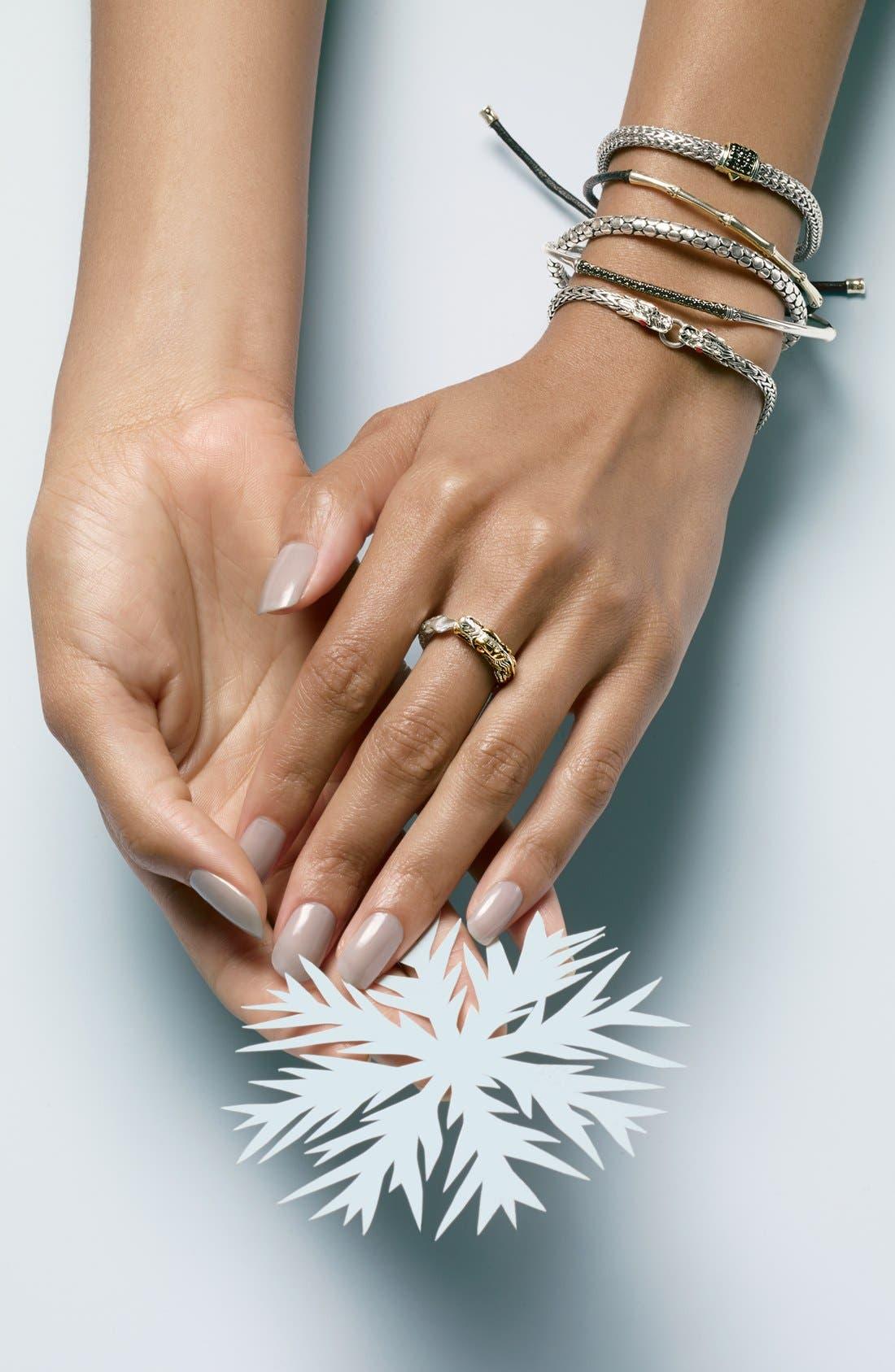 Alternate Image 3  - John Hardy 'Bamboo Themed' Slim Cord Bracelet