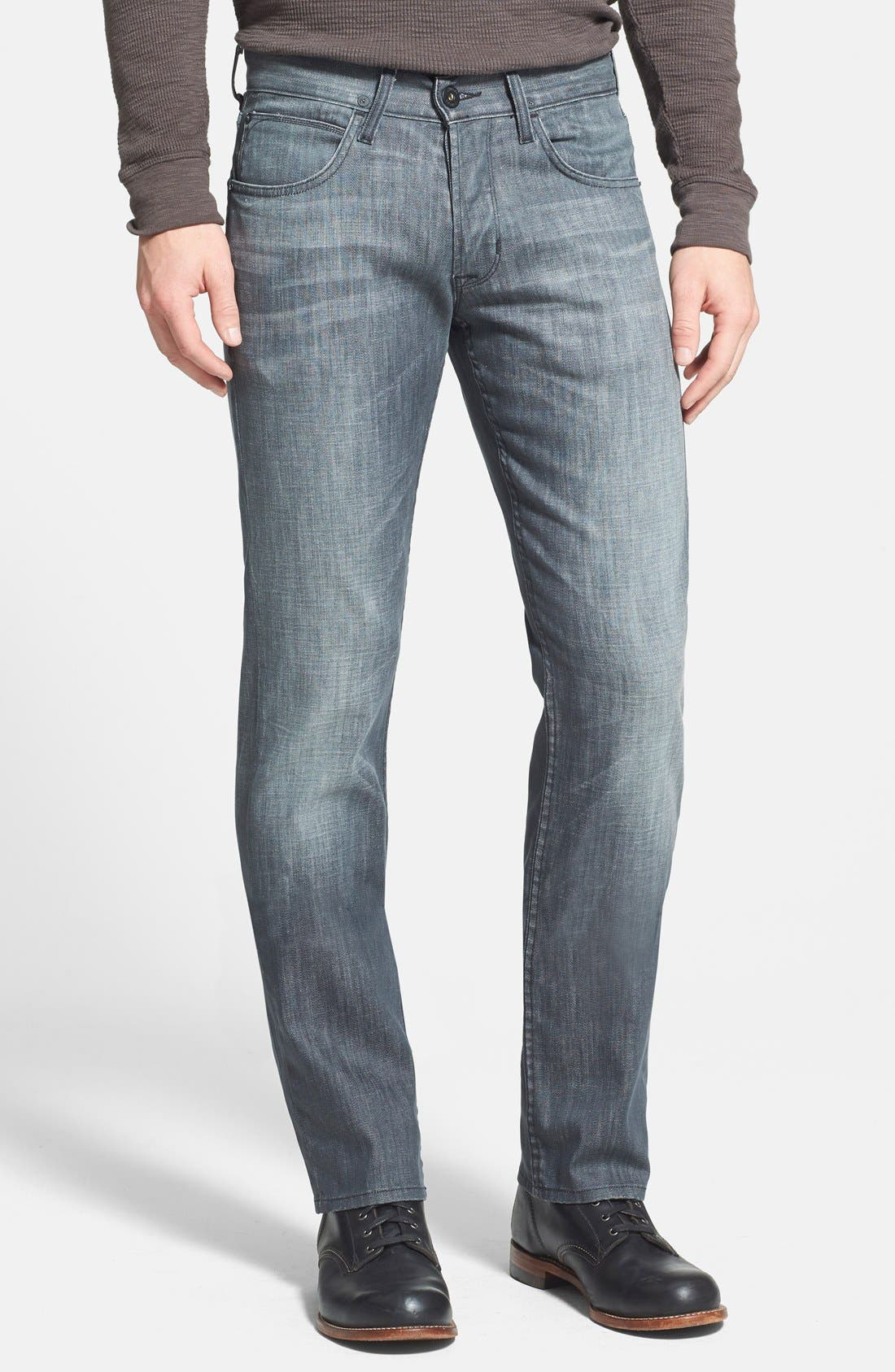 Alternate Image 1 Selected - Hudson Jeans 'Byron' Straight Leg Jeans (Virage)