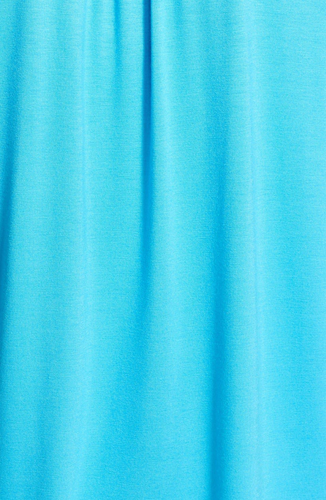 Alternate Image 3  - Pleione Mixed Media Roll Sleeve Top (Regular & Petite)