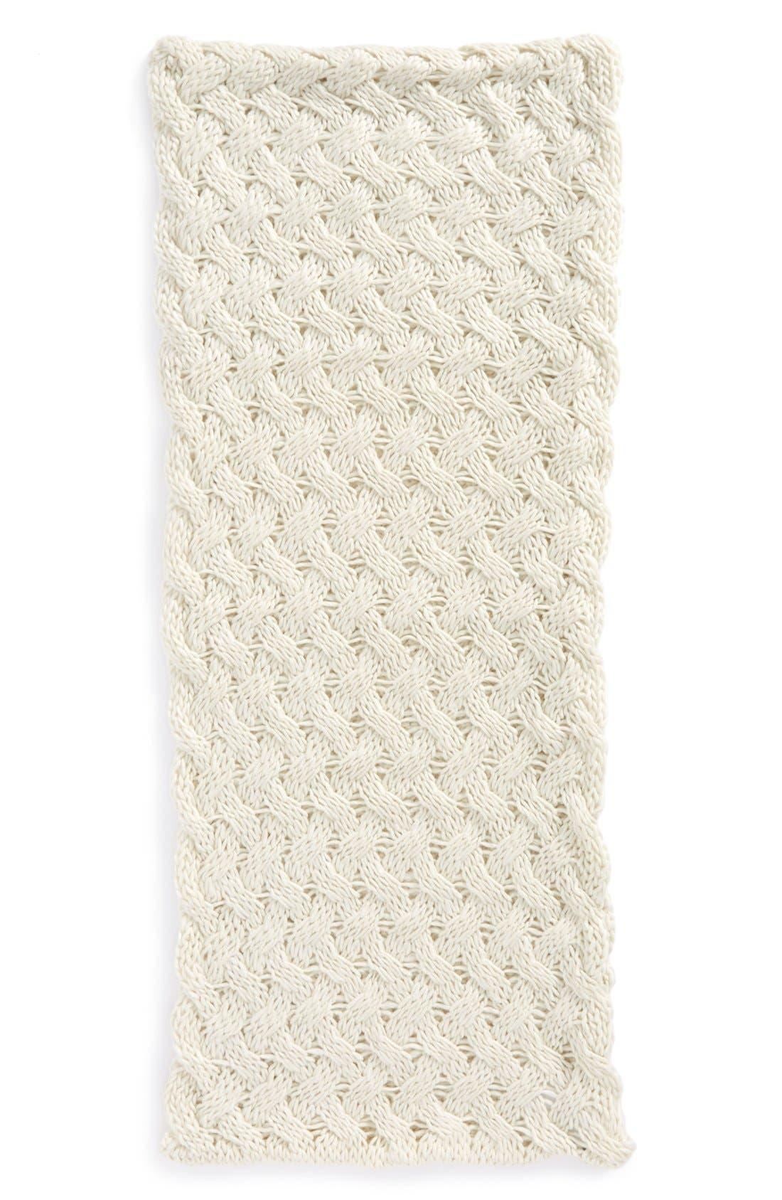Alternate Image 2  - Tildon Crisscross Knit Infinity Scarf