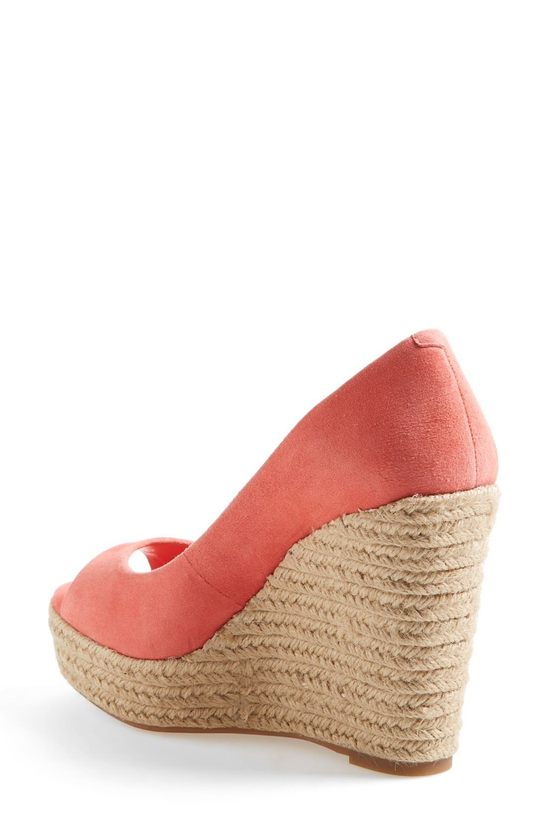 Alternate Image 2  - Vince Camuto 'Totsi' Peep Toe Espadrille Wedge (Women)