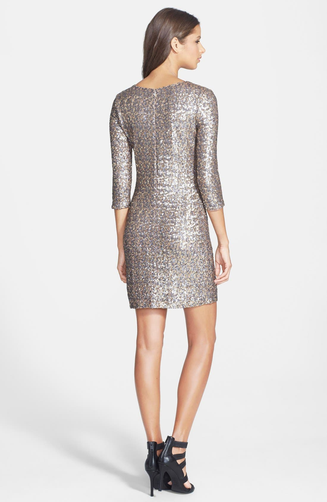 Alternate Image 2  - BB Dakota 'Valet' Sequin Body-Con Dress