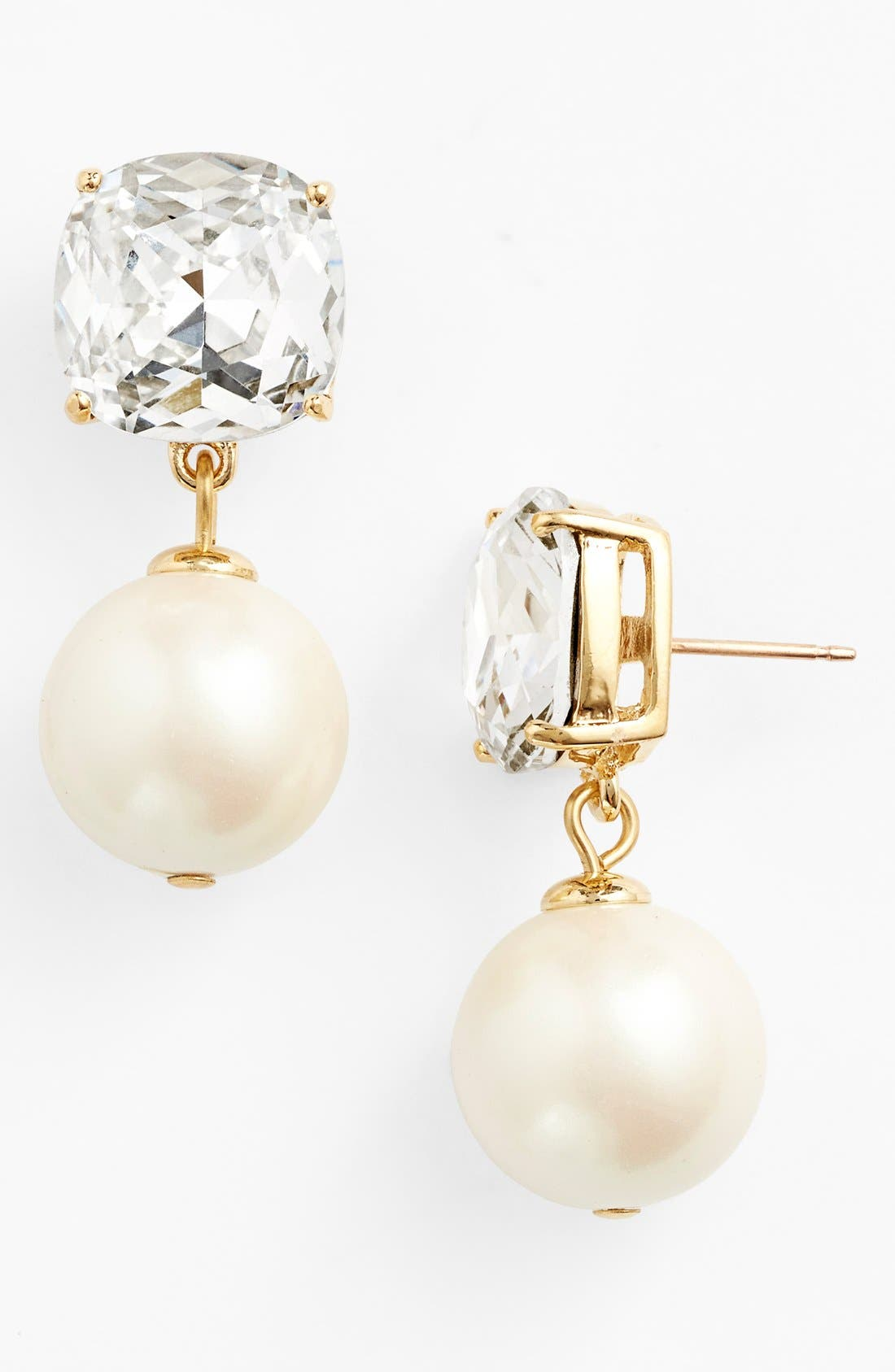Main Image - kate spade new york 'pearlescent baubles' drop earrings