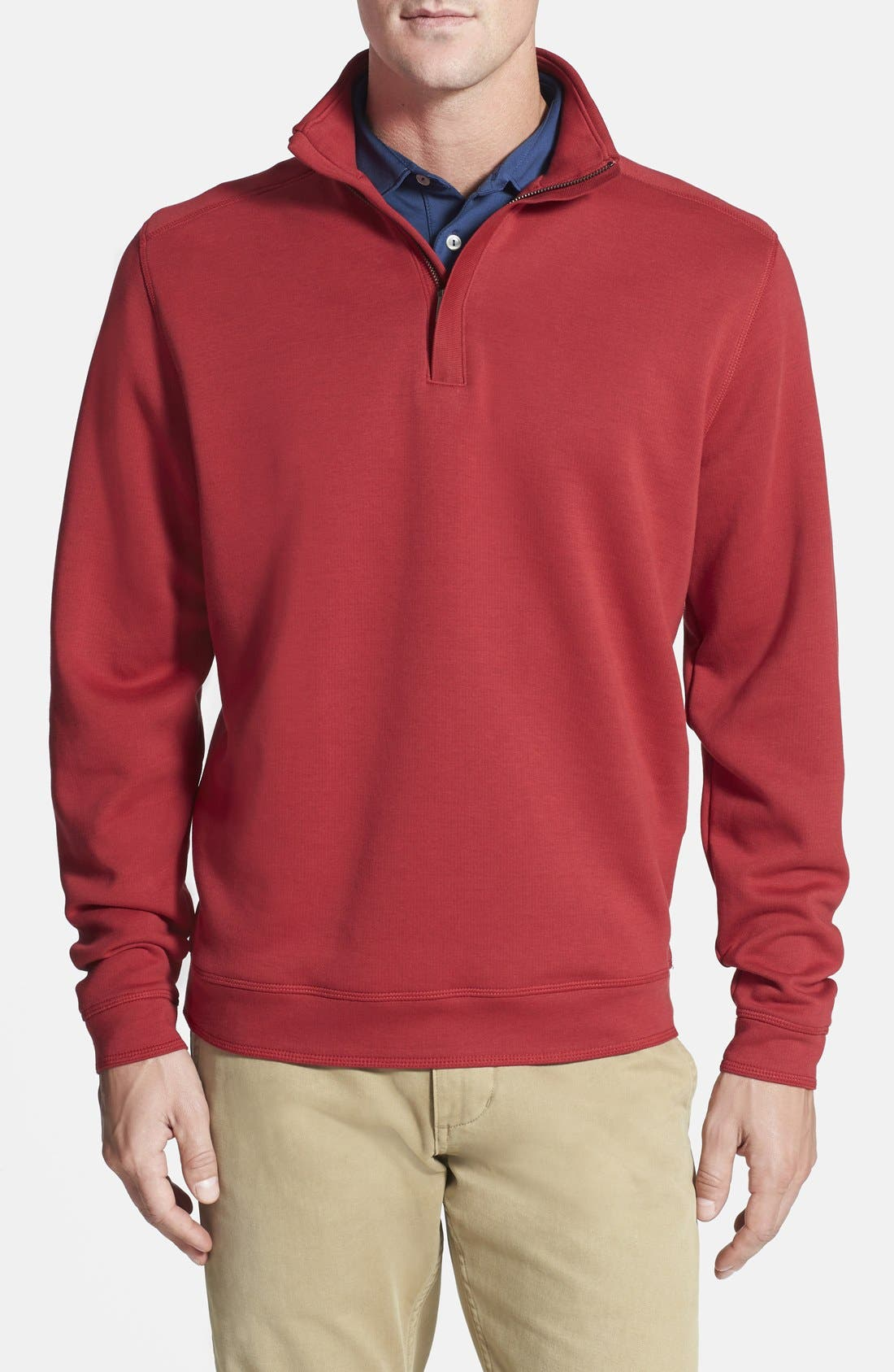 Cutter & Buck 'Decatur' Pima Cotton Pullover (Big & Tall)