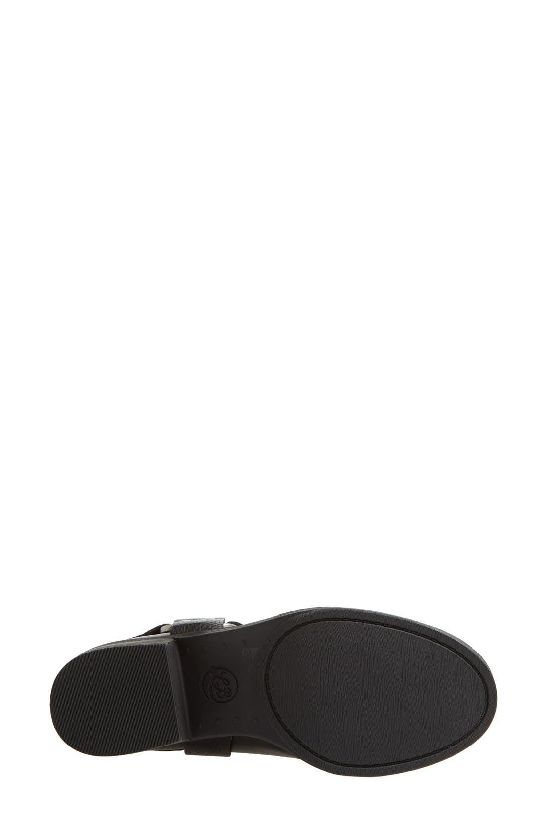 Alternate Image 4  - Lucky Brand 'Rolanda' Leather Harness Boot (Women)