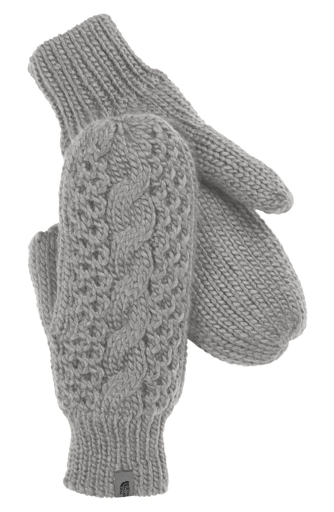 Main Image - The North Face Cable Knit Mittens