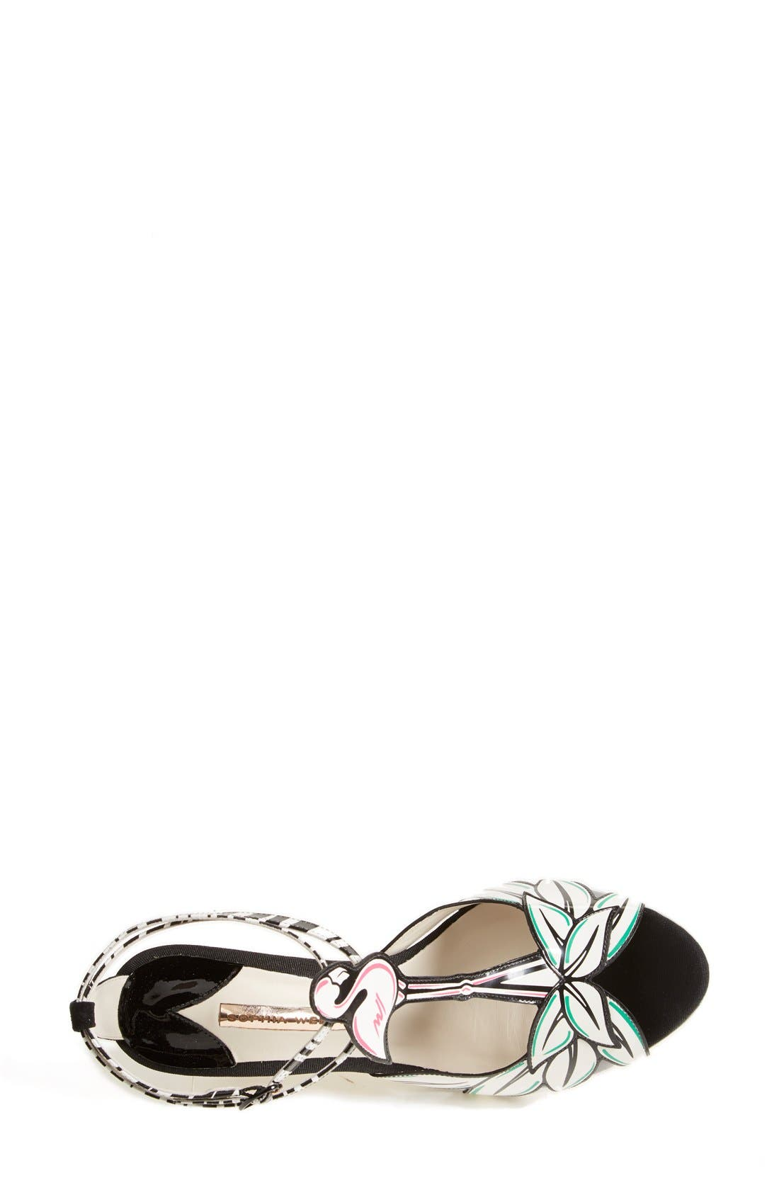 Alternate Image 3  - Sophia Webster 'Flamingo' T-Strap Leather Sandal (Women)