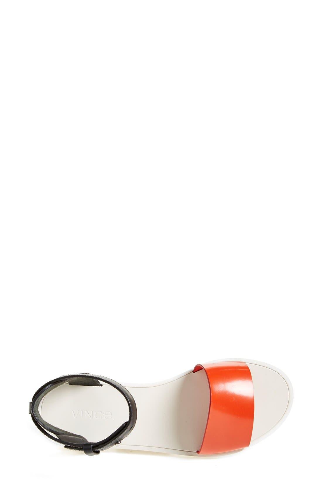 Alternate Image 3  - Vince 'Sawyer' Colorblock Sandal (Women)