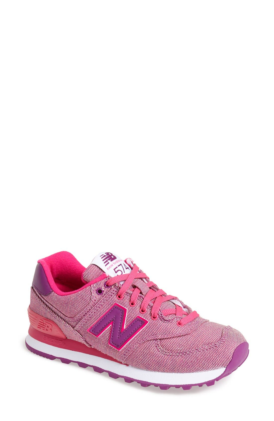 Alternate Image 1 Selected - New Balance '574 - Static' Sneaker (Women)