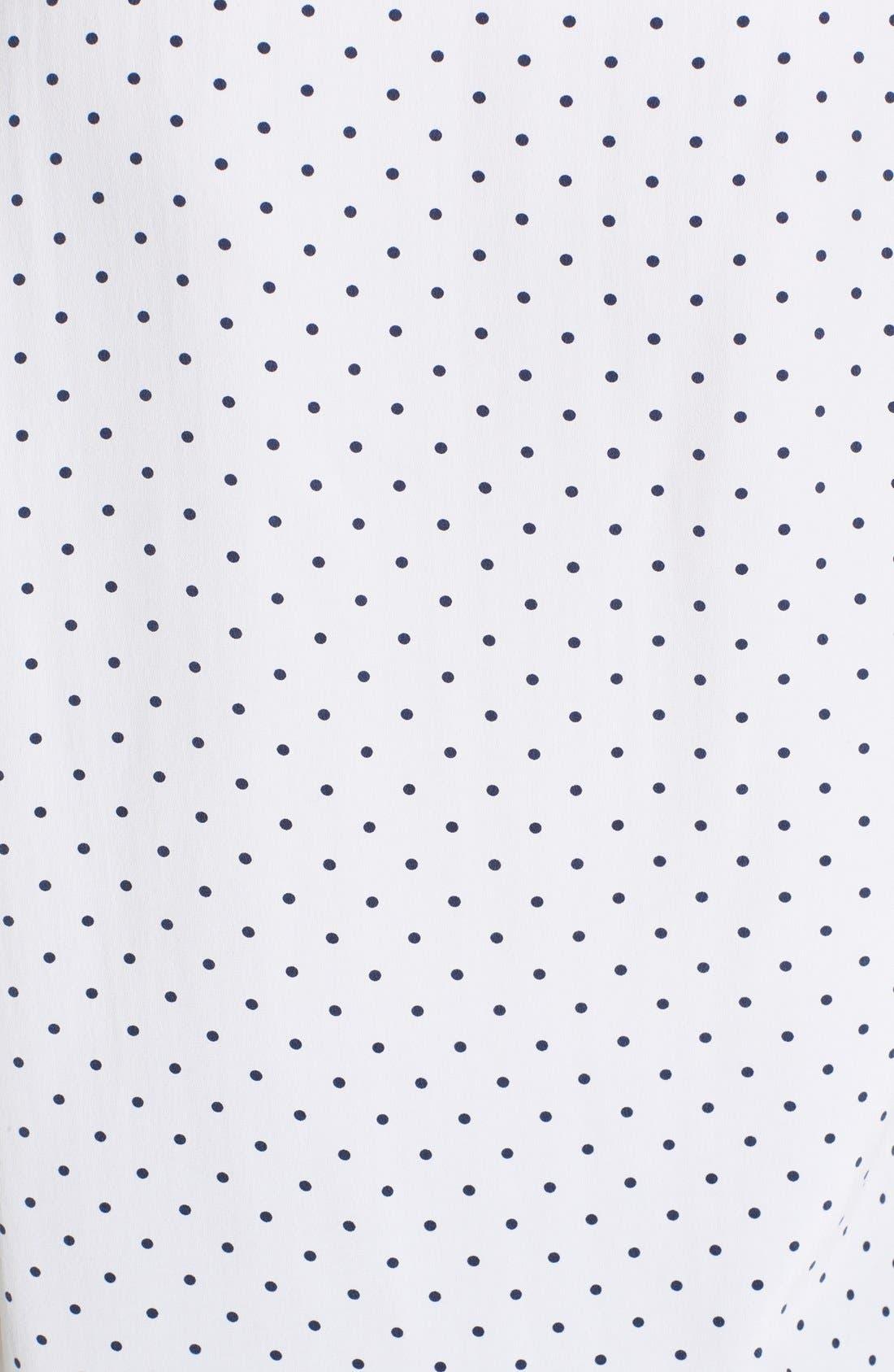 Alternate Image 3  - Equipment 'Riley - Uniform Dot' Silk Tee