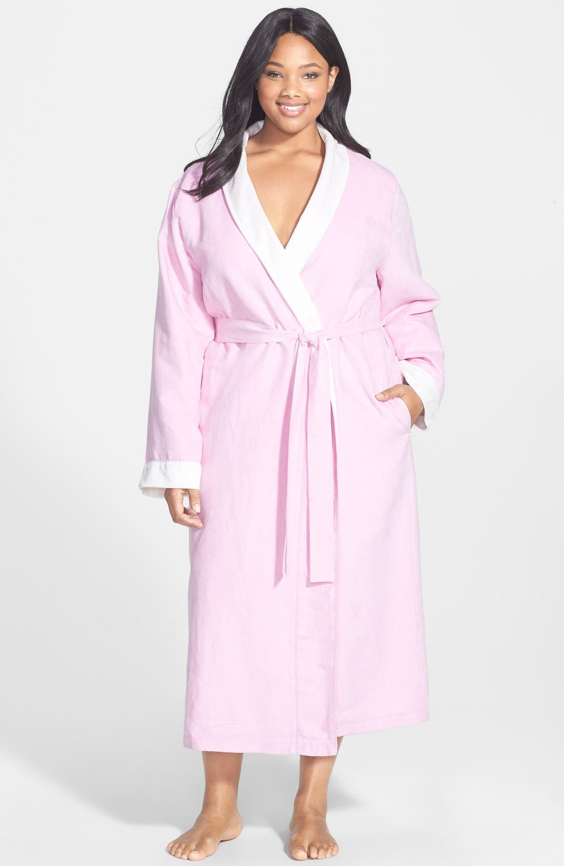 Alternate Image 1 Selected - Nordstrom 'Spa' Robe (Plus)