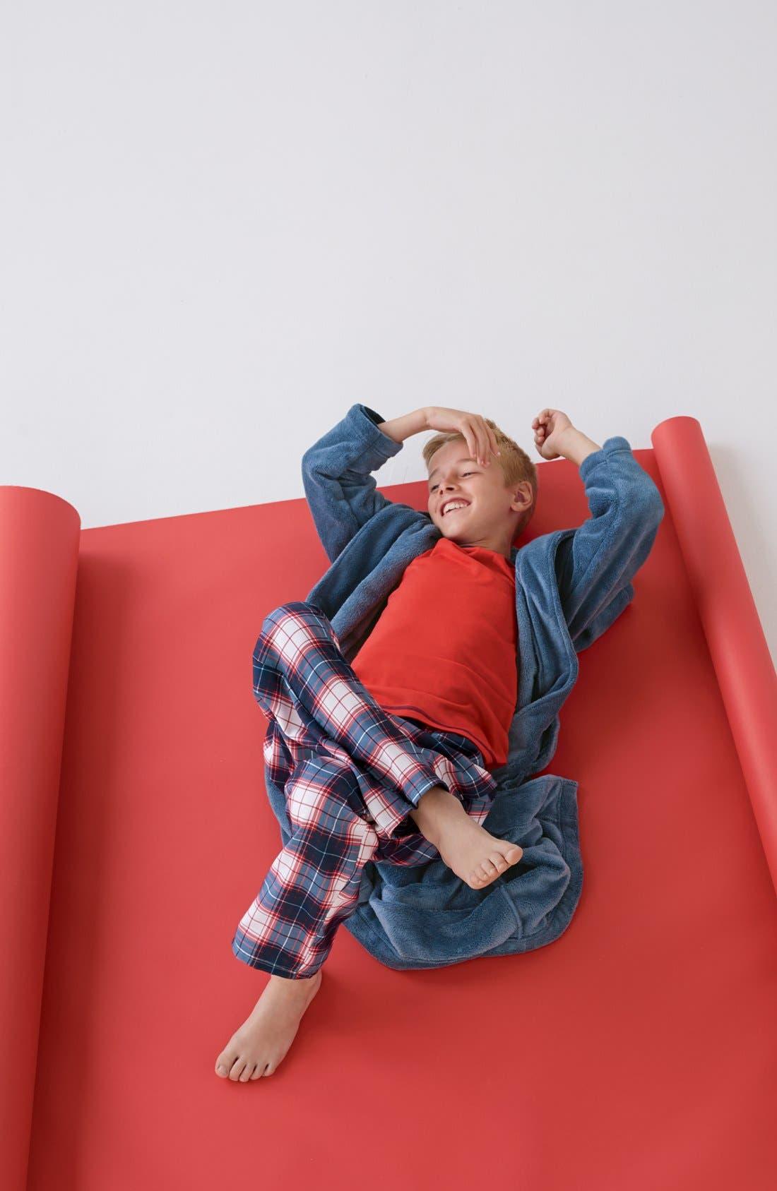 Alternate Image 2  - Tucker + Tate Long Sleeve Pajama Top (Little Boys & Big Boys)