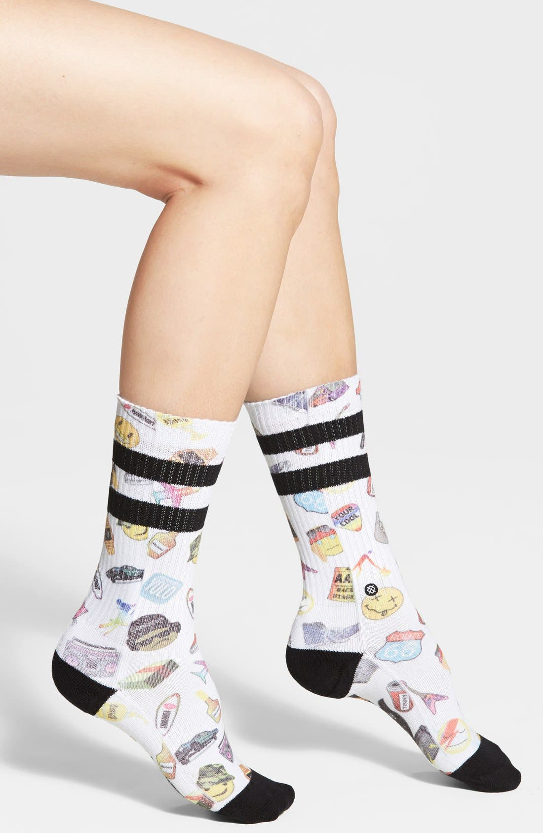 Alternate Image 2  - Stance 'Hip 'N Hop' Crew Socks