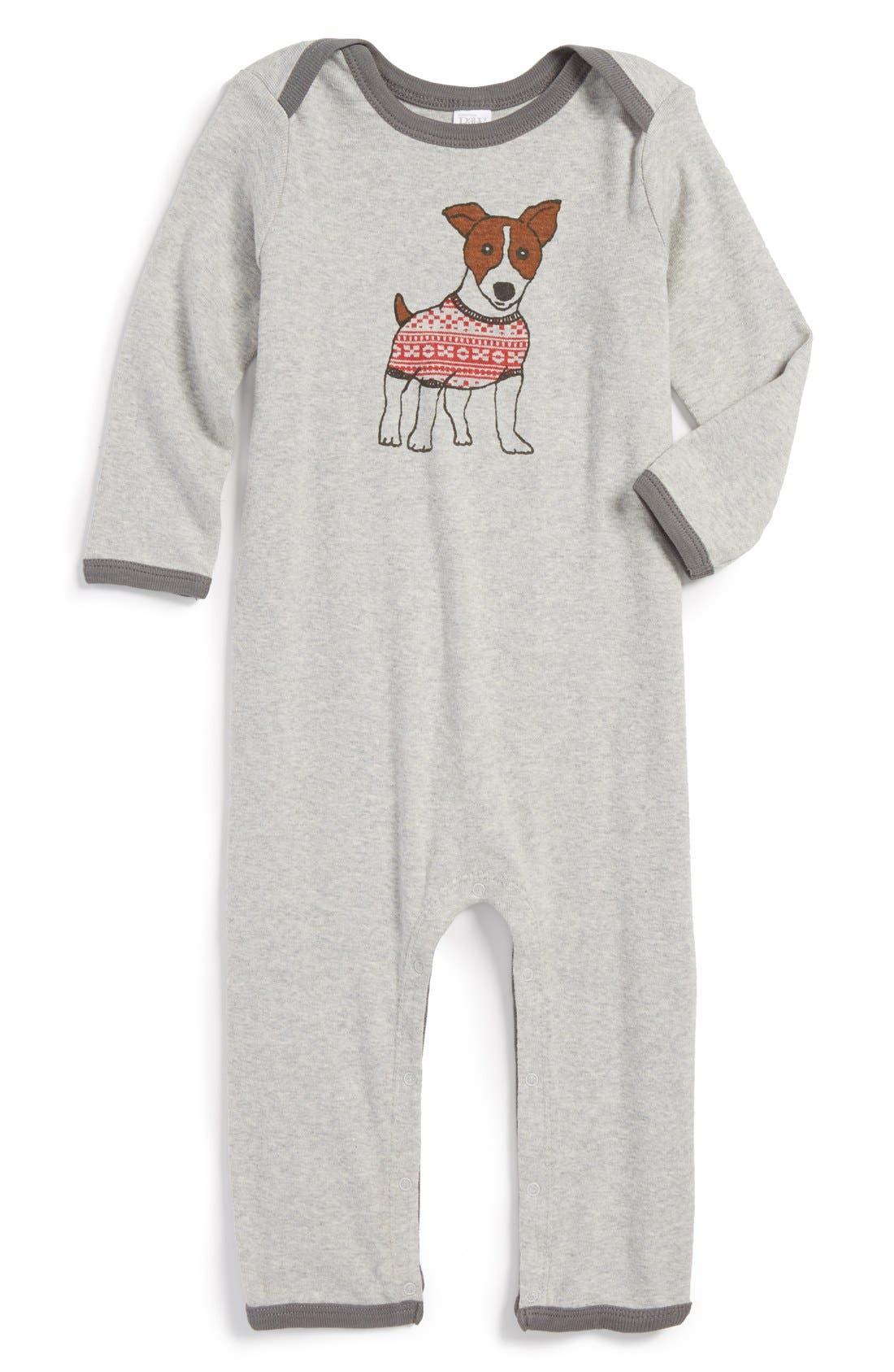 Main Image - Nordstrom Baby Romper (Baby)