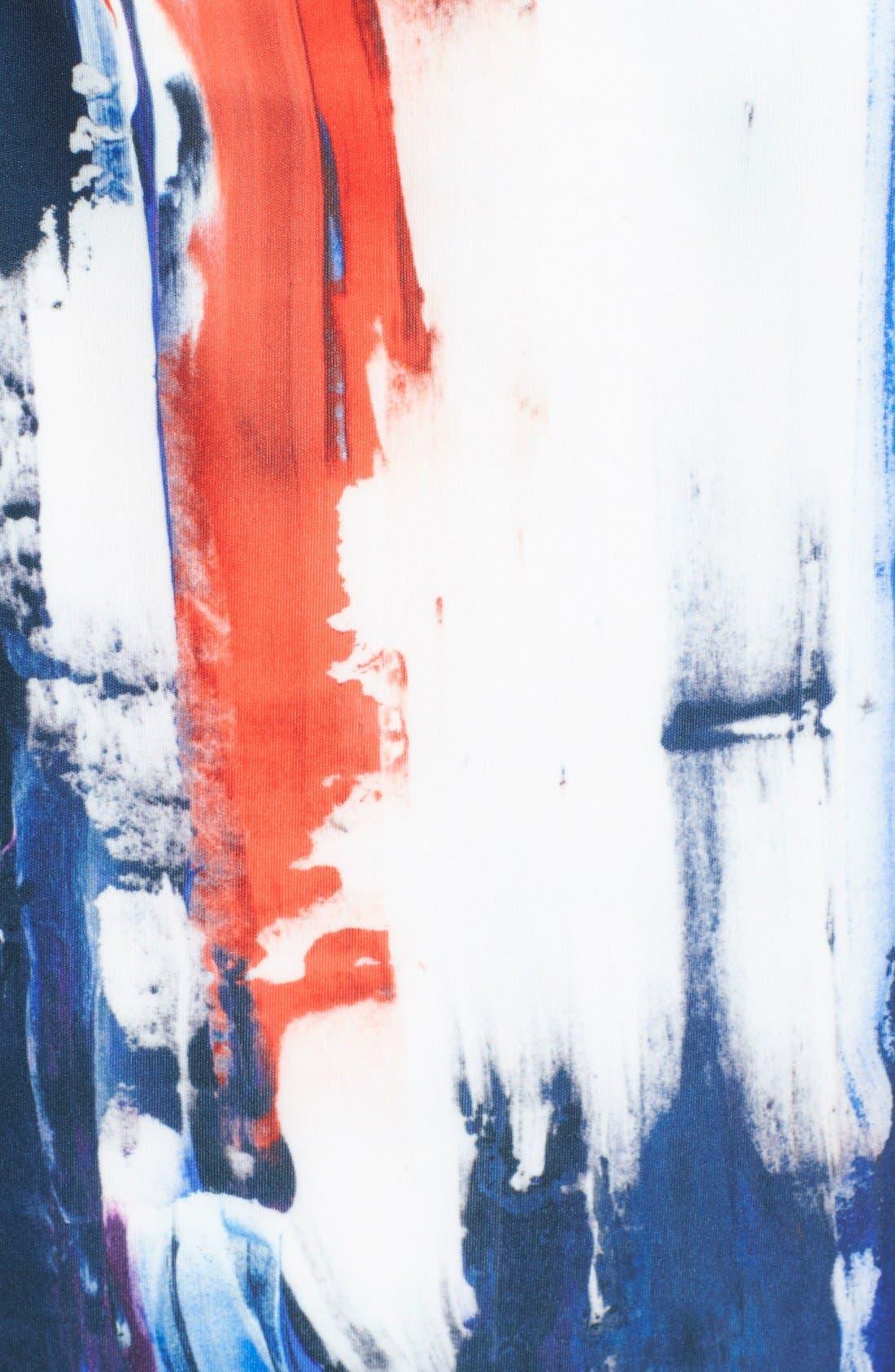 Alternate Image 3  - Milly Graffiti Print Midi Skirt