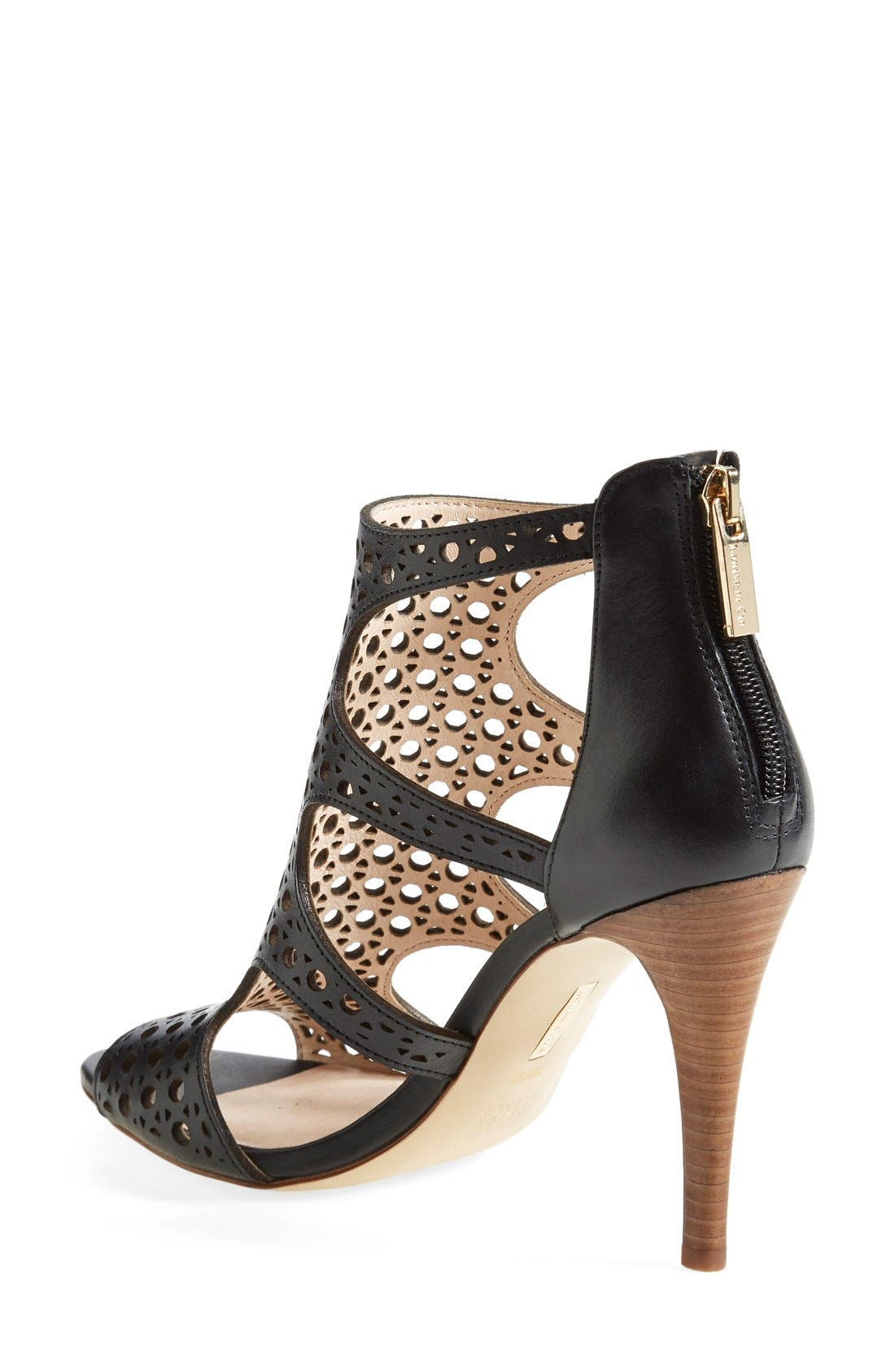 Alternate Image 2  - Louise et Cie 'Winnie 2' Perforated Leather Pump (Women)