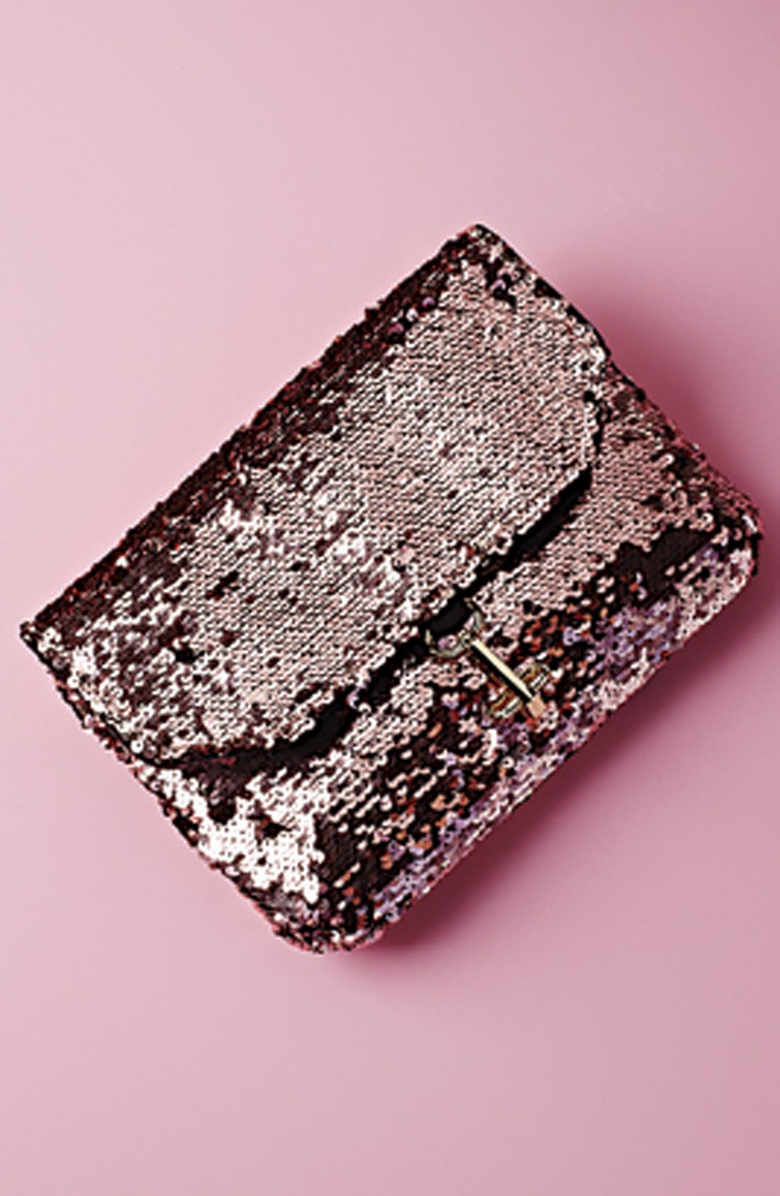 Alternate Image 5  - Deux Lux 'Ariel' Convertible Sequin Clutch