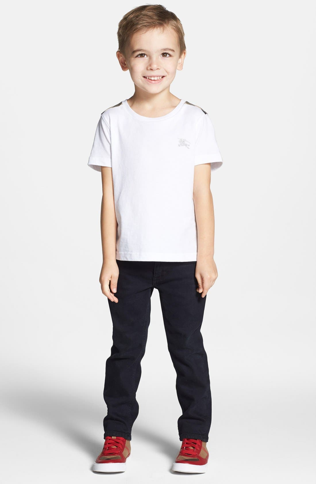 Alternate Image 1 Selected - Burberry 'Lencel' T-Shirt (Little Boys & Big Boys)