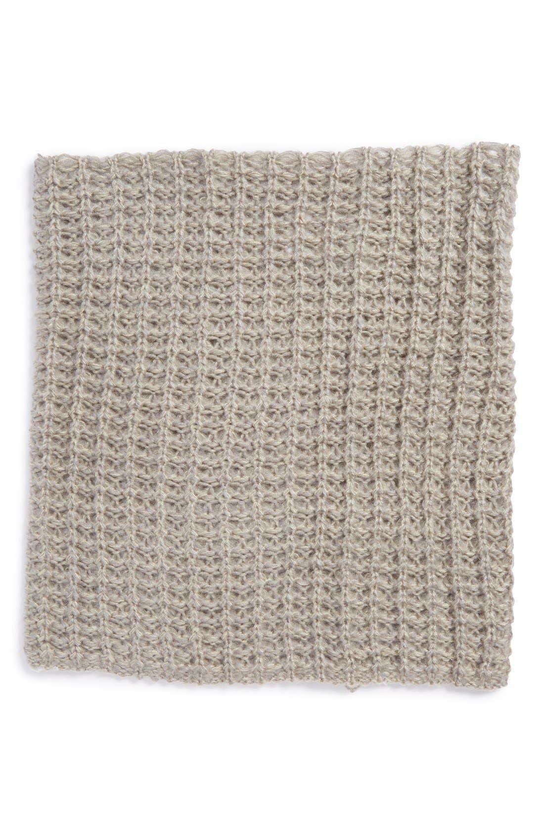 Alternate Image 2  - BP. Waffle Knit Infinity Scarf (Juniors)