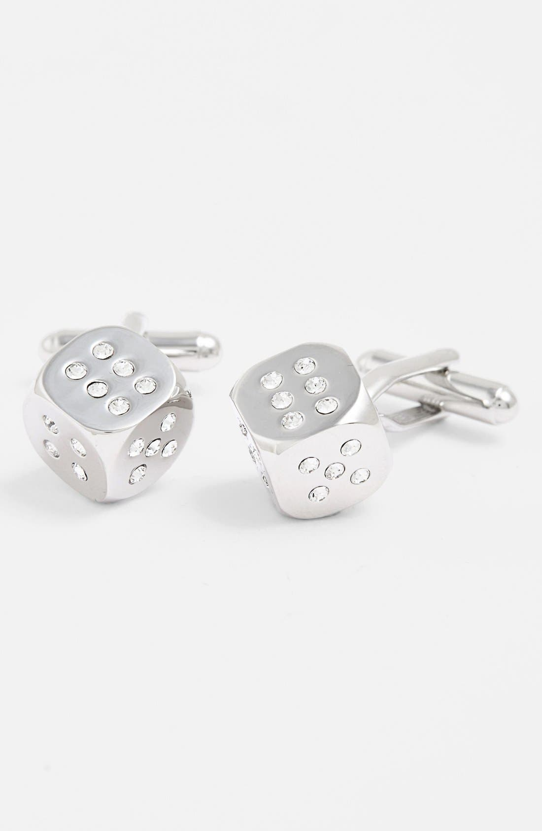 LINK UP Dice Cuff Links
