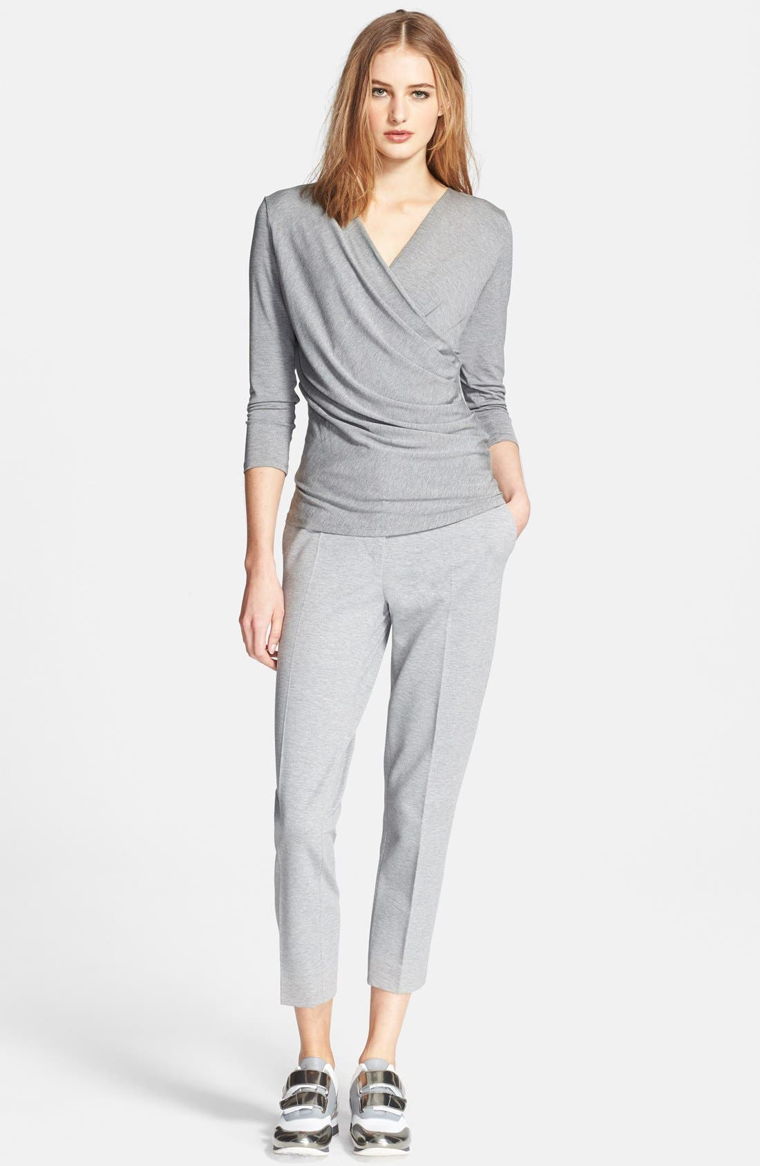 Alternate Image 3  - Max Mara 'Caprice' Faux Wrap Jersey Top
