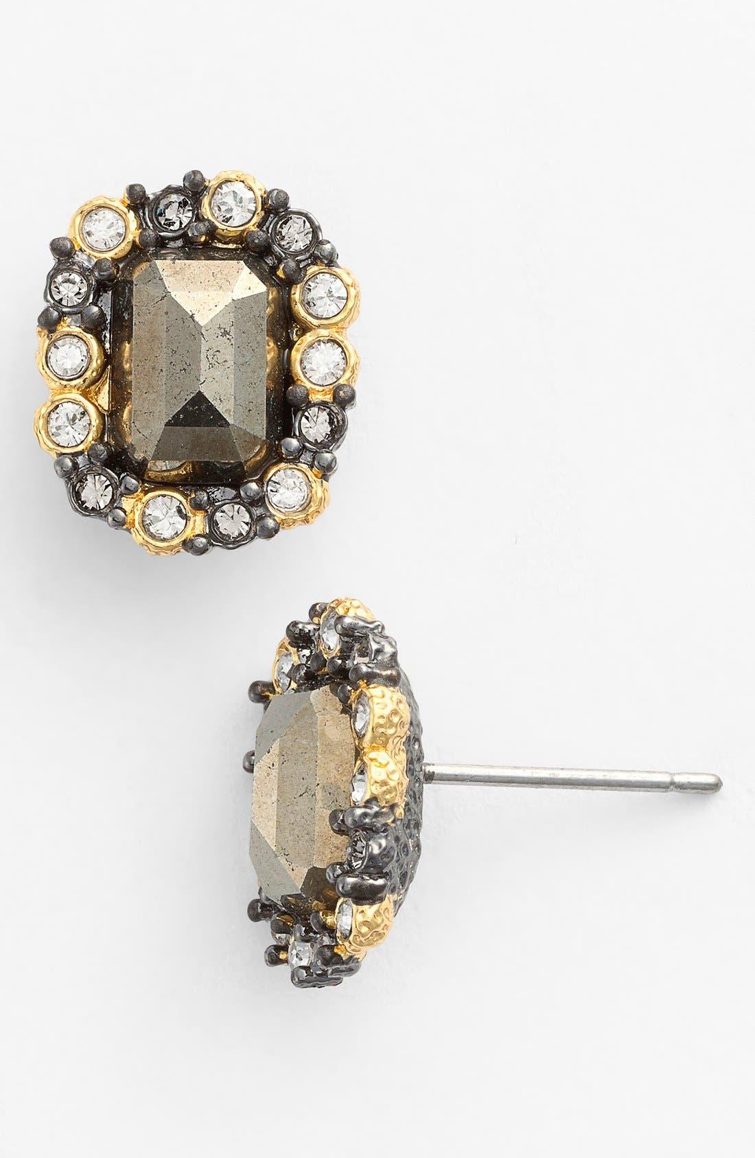 Alternate Image 1 Selected - Alexis Bittar 'Elements' Framed Stone Stud Earrings
