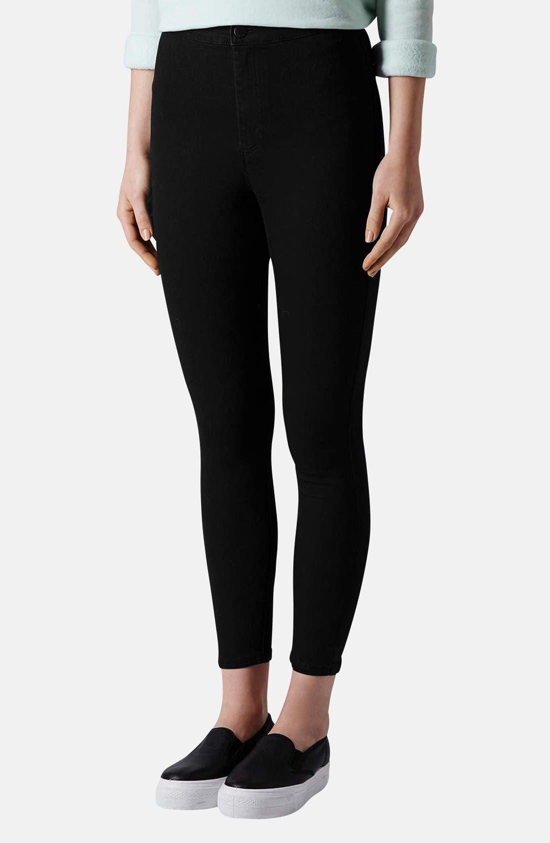 Alternate Image 1 Selected - Topshop Moto 'Joni' High Rise Skinny Jeans (Regular & Petite)