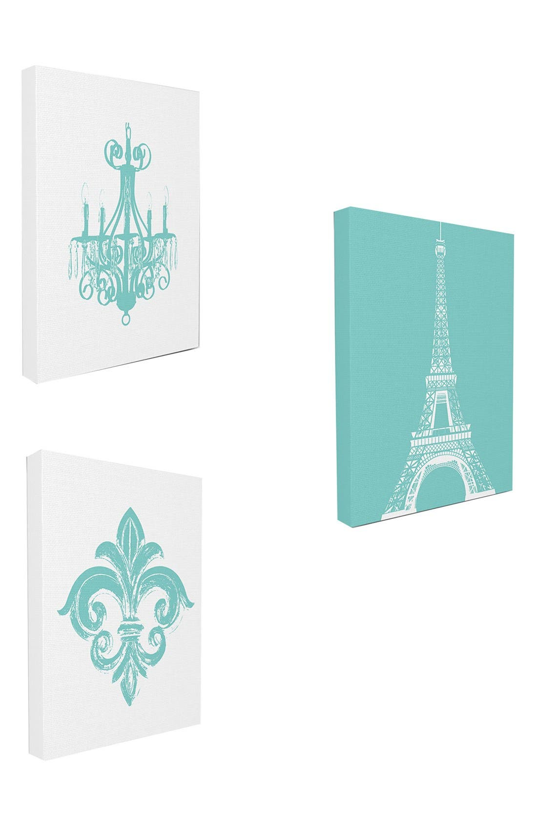 Main Image - LulusimonSTUDIO Canvas Wall Art (Set of 3)