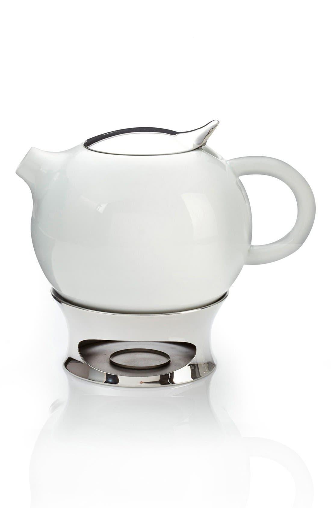 NAMBÉ 'Bulbo' Teapot with Infuser & Warming Base