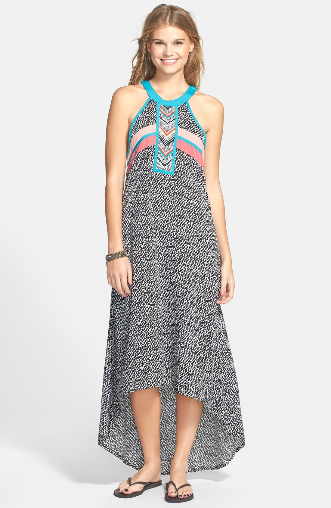 Main Image - Rip Curl 'Mystic Tribe' Maxi Dress (Juniors)