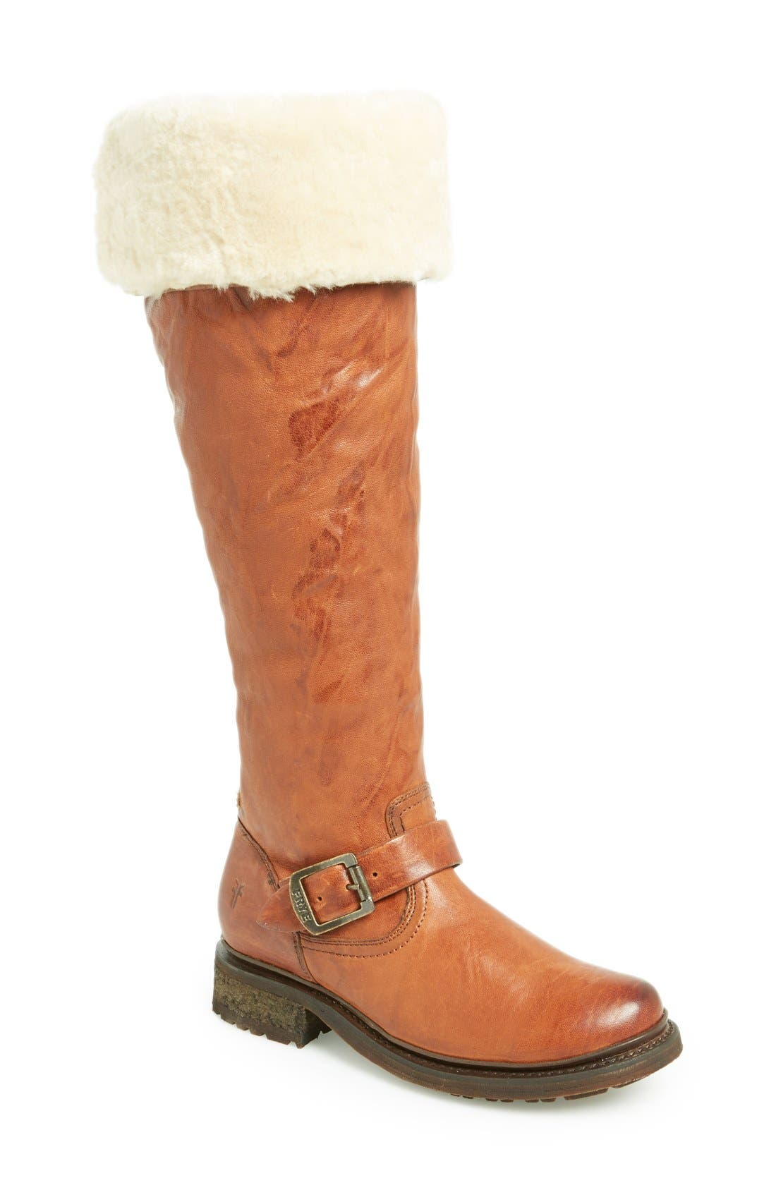 Main Image - Frye 'Valerie' Cuff Over the Knee Boot (Women)