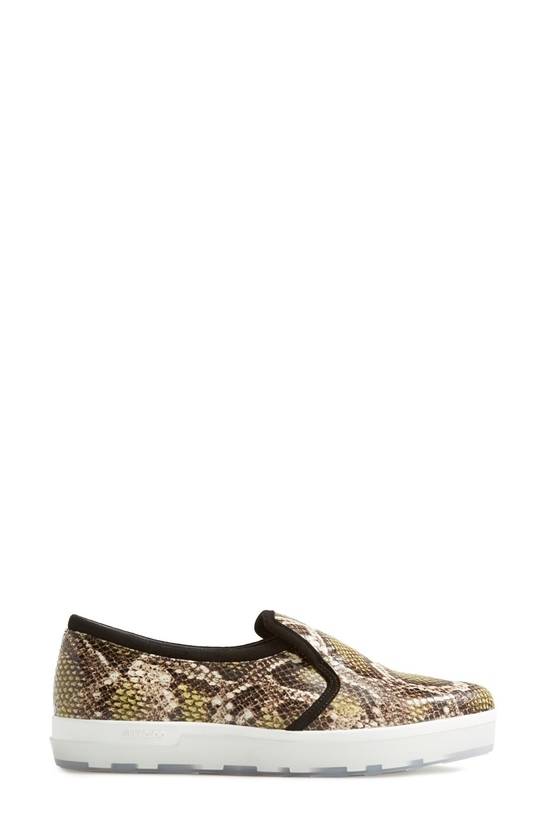 Alternate Image 4  - Jimmy Choo 'Brooklyn' Slip-On Sneaker (Women)